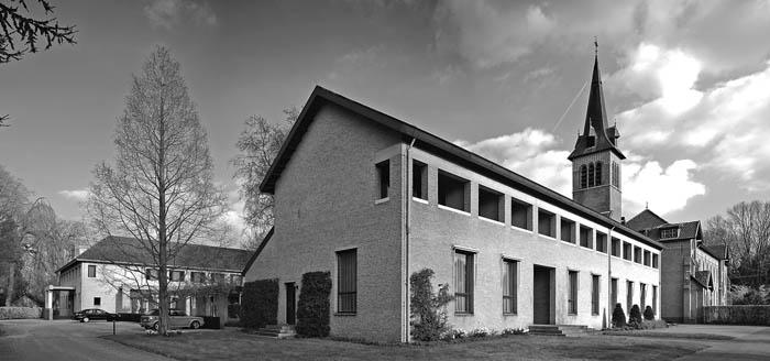 Uitbreiding klooster Oosterhout (beeld: Archiphoto Haarlem)