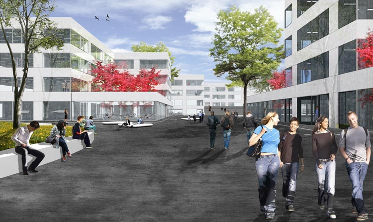 Campus Hoogvliet (© Wiel Arets Architects)