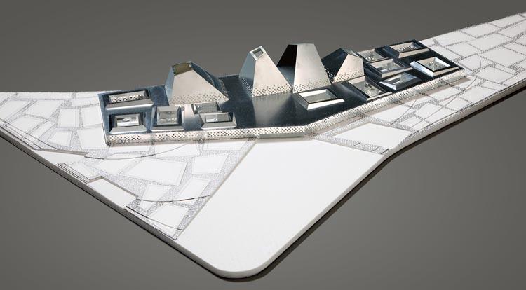 De maquette (beeld: Wiel Arets Architects)