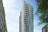 Start bouw energieneutrale woontoren in Amsterdam
