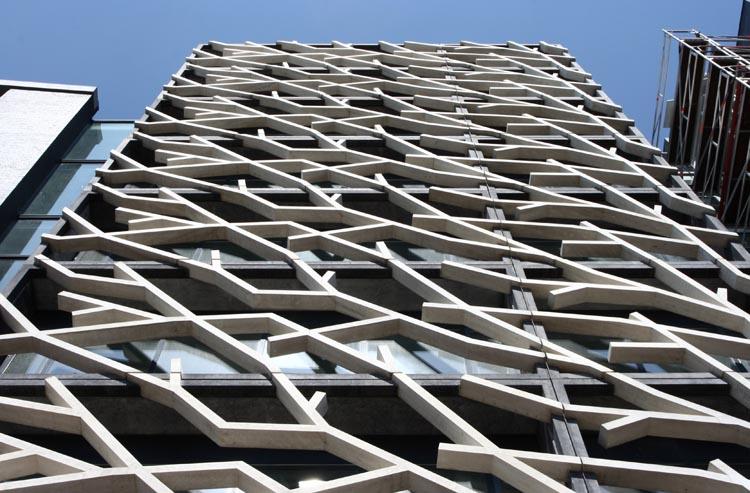 Kantoorgebouw Dominor in Lelystad (foto: Bart van Hoek)