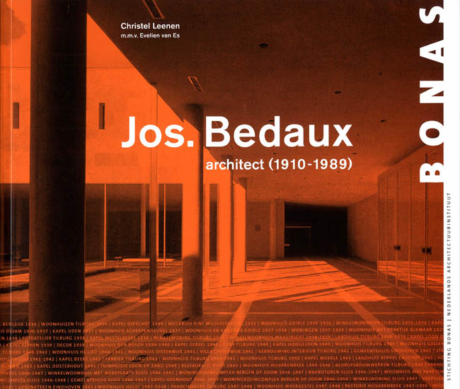 Cover - Jos. Bedaux architect (1910-1989)