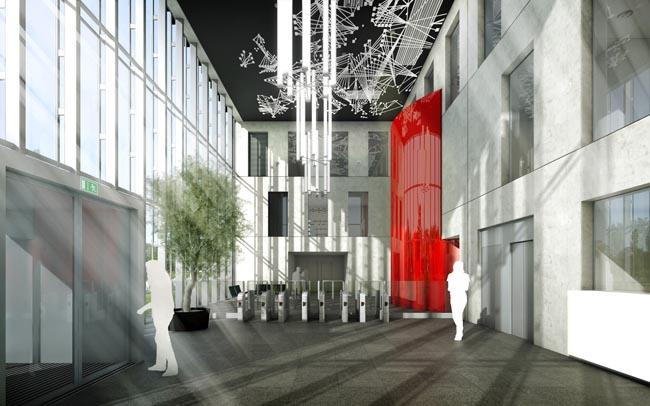 Impressie interieur Benthem Crouwel Architecten