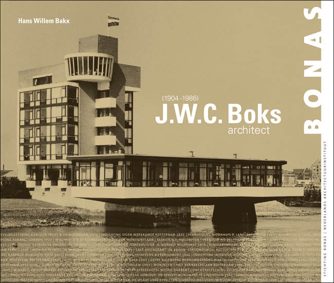 Cover J.W.C. Boks - architect (1904-1986)