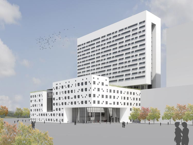 Honliv Ziekenhuis in Changyuan (Dutch Health Architects)