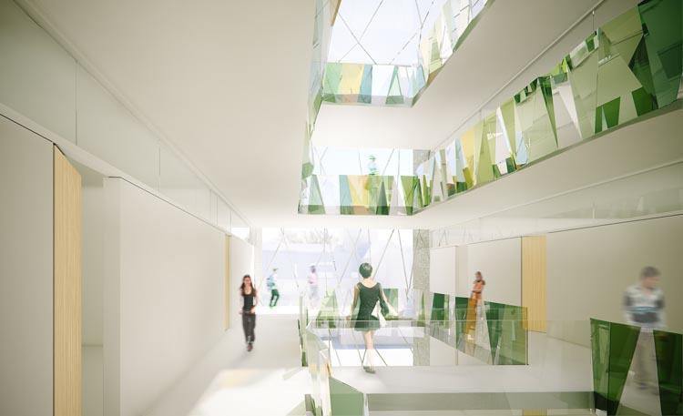 Het atrium (beeld: dJGA)