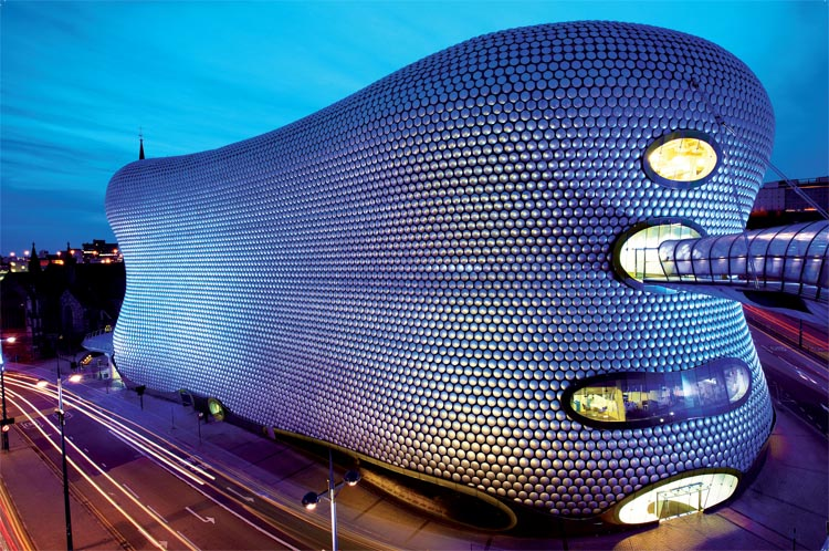 Selfridges in Birmingham van Future Systems