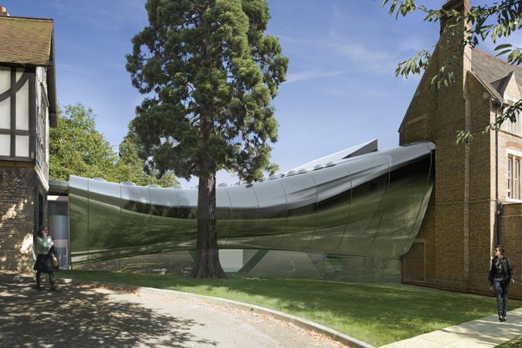 Exterieur (beeld: Zaha Hadid Architects)