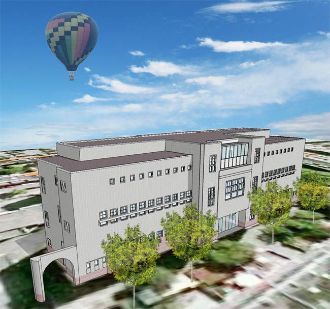 Renovatie Zuiderlicht College (Beeld HM Architecten)
