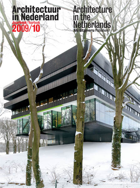 Cover Architectuur in Nederland Jaarboek 2009-10