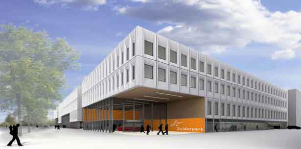Unielocatie Zuiderpark (beeld: JHK Architecten)