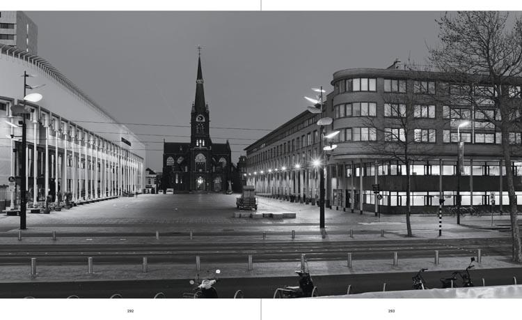Stadserf, Schiedam met rechts het ontwerp van Rijnboutt