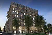 Start bouw Square in Amsterdam