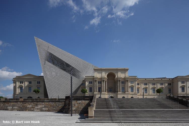 Militair Historisch Museum in Dresden (foto: Bart van Hoek)