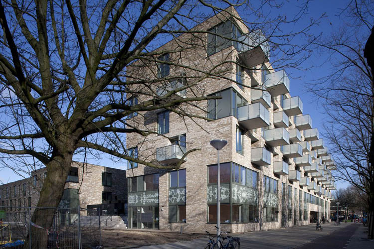 Brede school in Amsterdam (foto: Mecanoo)