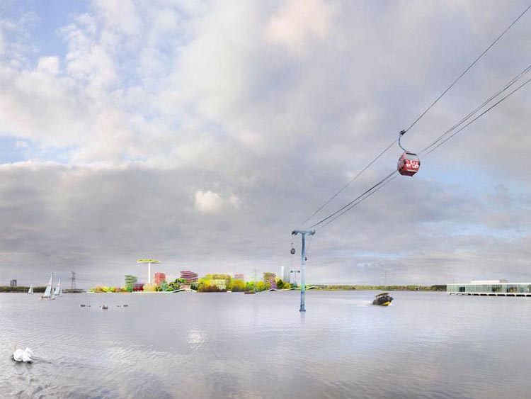 Almere Floriade (beeld: MVRDV)