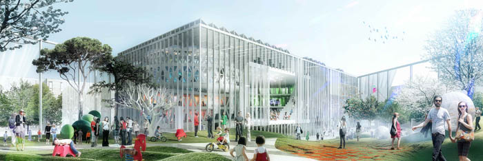 House of Culture and Movement (beeld MVRDV / ADEPT)