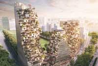 MVRDV ontwerpt multifunctioneel gebouw Zuid-as