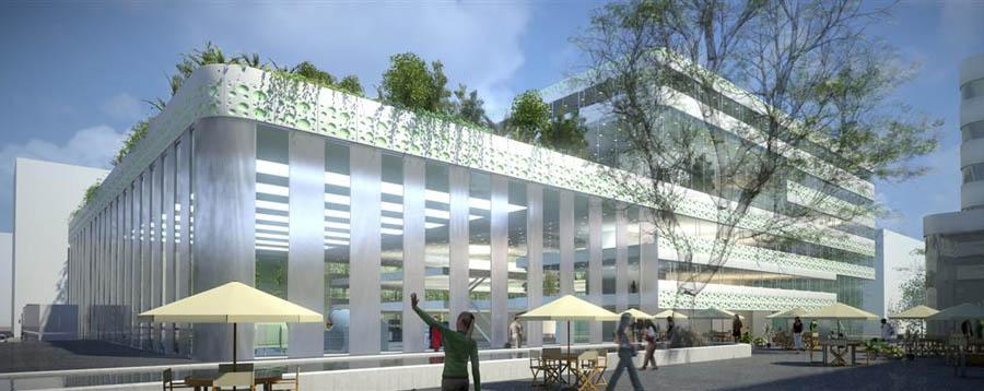Impressie Pro-LOG gebouw (beeld: MVSA)