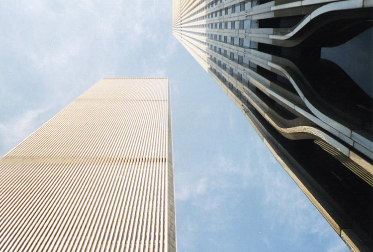 World Trade Center NYC, 2001 (foto: Bart van Hoek)