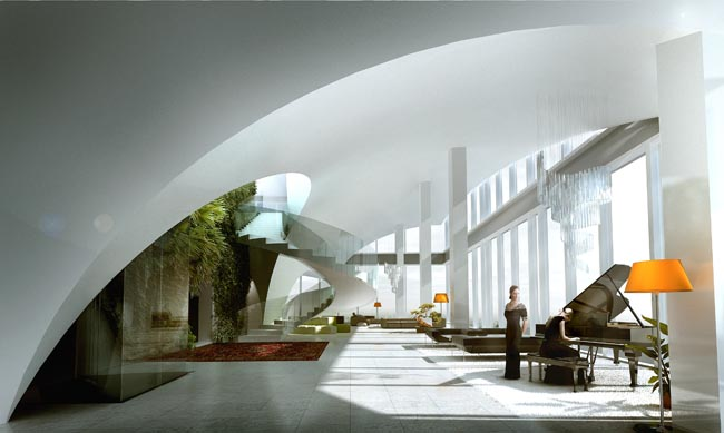 Moscow Penthouse (beeld: Powerhouse Company / MIR)