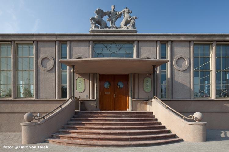 Het Nationaal Onderwijsmuseum (foto: Bart van Hoek)