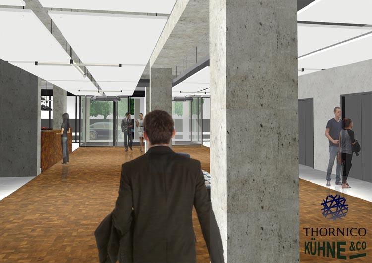 impressie Thornico gebouw