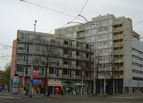 Jongerenhuisvesting en winkelruimte